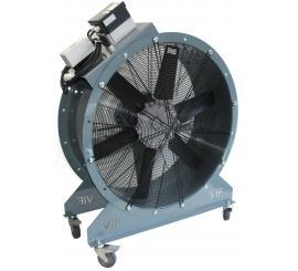 Vue générale du VEN 370 BIS équipé du variateur de fréquence disponible en option